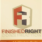 A Finished Right Construction, Inc. Logo