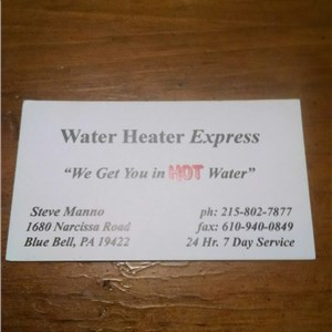 Water Heater Express Logo