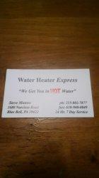 Water Heater Express Logo
