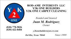 Y2k one Builders Logo