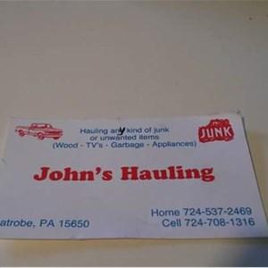 Johns Hauling & Scrap Metal Cover Photo