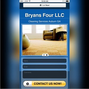 Bryans Four Residential Cleaning Service Logo