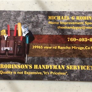 Robinsons Handyman Services Cover Photo
