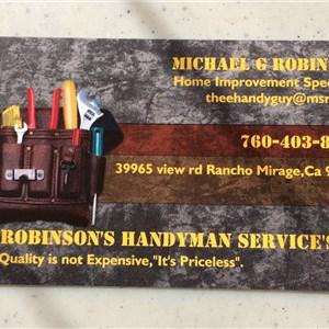 Robinsons Handyman Services Logo