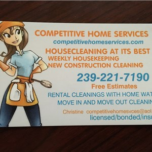 Competitive Home Services Cover Photo