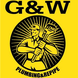G & W Plumbing And Repipe Logo