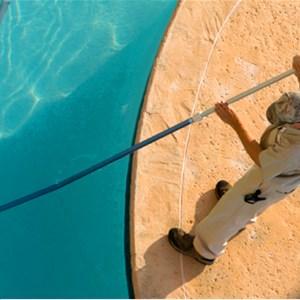Lifeguard Pool Service Logo