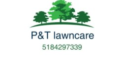 P & T Lawn Care Logo