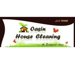 Oasin Cleaning Services Logo
