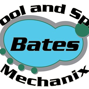 Bates Pool Mechanix Logo