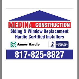 Medina Construction And Remodeling Logo