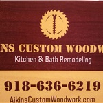Aikins Custom Woodwork Logo