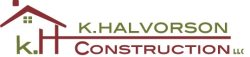 K. Halvorson Construction Llc. Logo