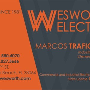 Wesworth Electric Cover Photo