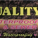 Quality Waterproofing & Sewer Logo