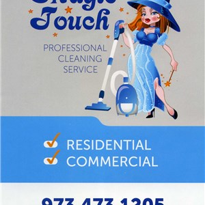 Magic Touch Cleaning Logo