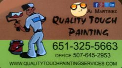 Quality Touch painting Logo