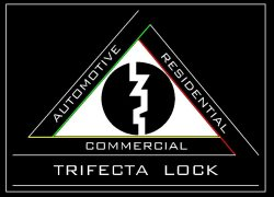Trifecta Lock Logo