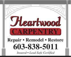 Heartwood Carpentry Logo