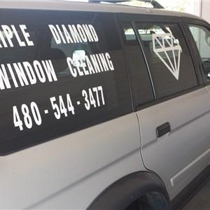 Triple Diamond Window Cleaning Logo