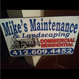 Mikes Maintenance & Landscaping Logo
