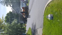 I pave asphalt Logo