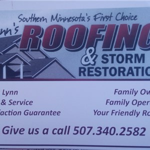 Lynns Roofing, LLC Cover Photo