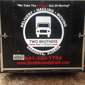 Two Brothers And a Truck Logo