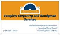 Affordable Handyman Solutions Logo
