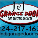 J&j Garage Door and Electric Openers Logo