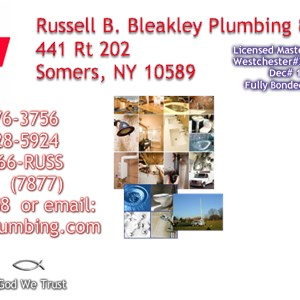 Russell B. Bleakley Plumbing & Heating Incorporated Cover Photo