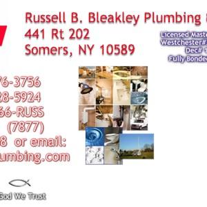 Russell B. Bleakley Plumbing & Heating Incorporated Logo