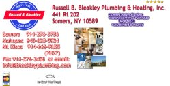 Russell B. Bleakley Plumbing & Heating Incorporated Logo
