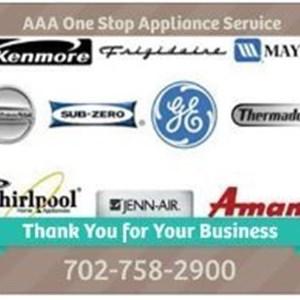 AAA One Stop Appliance Service Logo