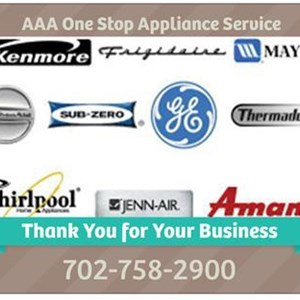 Aaa One Stop Appliance Service Logo