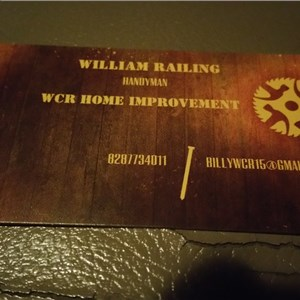 WCR Home Improvement Logo