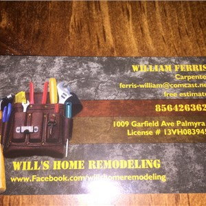 Wills Home Remodeling Cover Photo