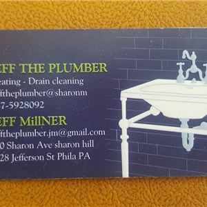 Jeff The Plumber Logo