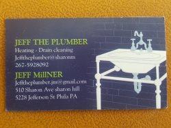 Jeff The Plumber Logo