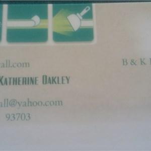 B & K Drywall Logo
