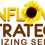Sunflower Strategies Professional Organizing Logo