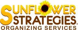 Sunflower Strategies Professional Organizing Logo
