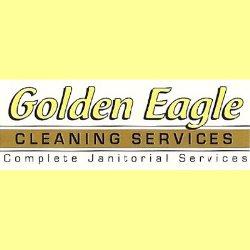 Golden Eagle Cleaning Service Logo