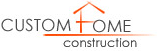 Custom Home Construction Logo