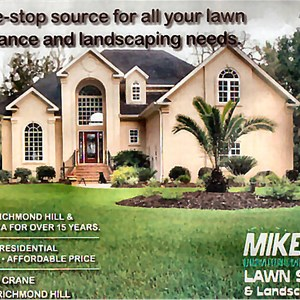 Mikes Lawn Service & Landscaping LLC Logo