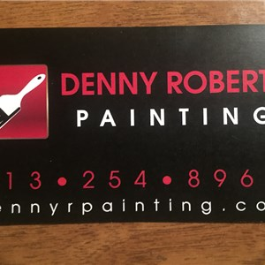 Denny R Painting Cover Photo
