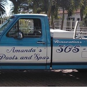 Amandas Pools and Spas, Inc. Logo