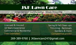 JK Lawn Care Logo