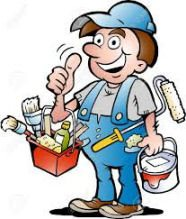 A+ Handyman Service Logo
