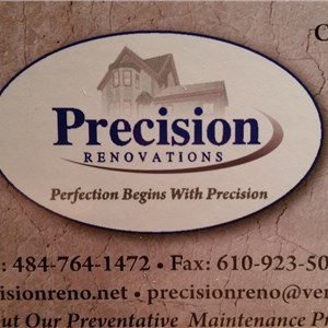 Precision Renovations llc Logo